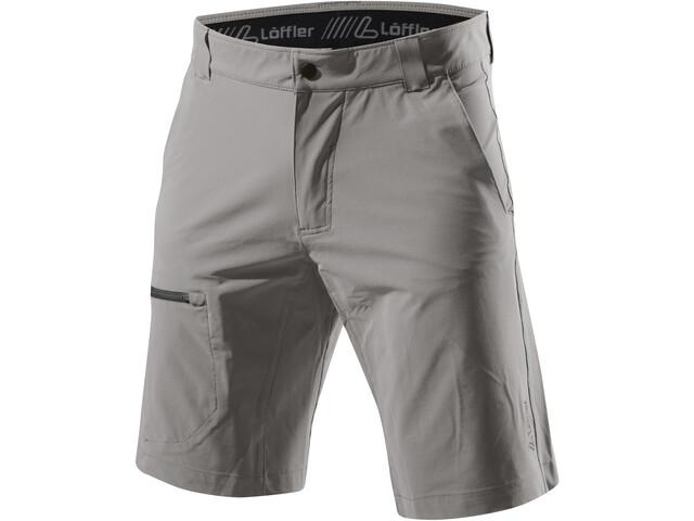 Löffler Comfort Stretch Light Pantalones Cortos de Trekking Hombre, nickel